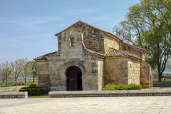 Church of San Juan Bautista, Banos de Cerrato Stock Photo