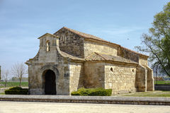 Church of San Juan Bautista, Banos de Cerrato Royalty Free Stock Photo