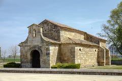 Church of San Juan Bautista, Banos de Cerrato Royalty Free Stock Photo