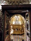 Church-San Juan de Dios-Granada-Andalusia. Indoor church-San Juan de Dios-Granada-Andalusia old object Stock Image