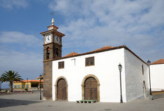 Church in San Juan de la Rambla, Tenerife Stock Image