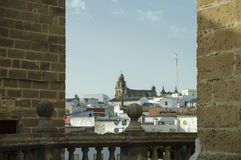 Church of San Juan de los Caballeros,Jerez de la Frontera stock photography