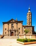 Church of San Juan de los Panetes  at Zaragoza Stock Photo