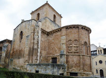 Church of San Juan de Rabanera Soria, Spain. Church of San Juan de Rabanera, Castilian Romanesque monument that the city of Soria, Spain Royalty Free Stock Photos