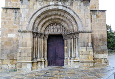 Church of San Juan de Rabanera Soria, Spain. Church of San Juan de Rabanera, Castilian Romanesque monument that the city of Soria, Spain Royalty Free Stock Photography