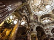 Church of San Lorenzo, Turin, Italy Stock Photo