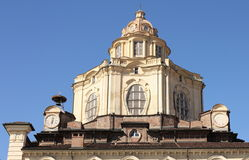 Church of San Lorenzo, Turin, Italy royalty free stock photo