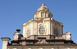 Church of San Lorenzo, Turin, Italy Royalty Free Stock Photo