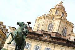 Church of San Lorenzo, Turin, Italy Royalty Free Stock Photography