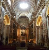 Church of San Luigi dei Francesi, Rome, Itlay Royalty Free Stock Image