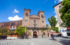 Church of San Martín on a sunny spring day, Madrid Stock Photos
