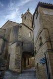 Church of San Martin de Tours Royalty Free Stock Photography