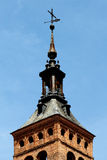 Church of san martin, segovia, detail of the steeple Stock Photography
