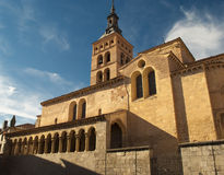 Church of San Martin in Segovia (Spain) Stock Photography