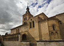 Church of San Martin, Segovia, Spain Stock Photos