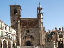 Church of San martin Royalty Free Stock Images