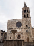 Church of San Michele Arcangelo in Bevagna Stock Photography