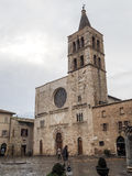 Church of San Michele Arcangelo in Bevagna Royalty Free Stock Images