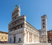 Church San Michele in Foro in Lucca Stock Image