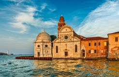 Church San Michele in Isola Venice Italy stock image
