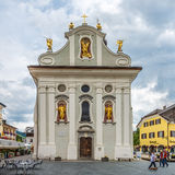 Church San Michele in San Candido Stock Photography