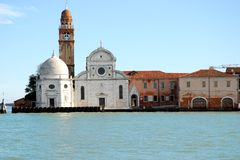 Church of San Michele in Venice in Italy Royalty Free Stock Images