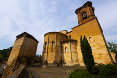 Church of San Miguel at Estella Royalty Free Stock Image