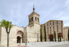 Church of San Miguel Olmedo Royalty Free Stock Photography