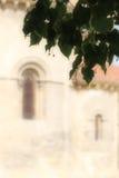 Church of san milan, segovia, blurred Royalty Free Stock Photography
