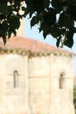 Church of san milan, segovia, blurred Royalty Free Stock Image