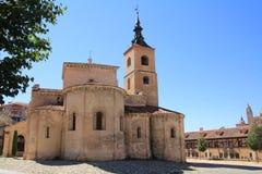Church of San Millan Segovia, Spain. THE Church of San Millan Segovia, Spain Royalty Free Stock Image
