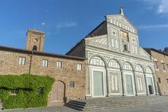 Church San Miniato al Monte Royalty Free Stock Image
