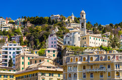 Church of San Nicola da Tolentino in Genoa Stock Photography