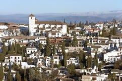 Granada City, Spain Stock Photography