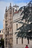 Church of San Pablo in Valladolid stock photography