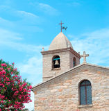 Church in San Pantaleo Stock Photo