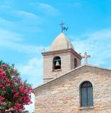 Church in San Pantaleo Stock Photo