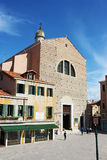 Church of San Pantalon, Venice Stock Photo