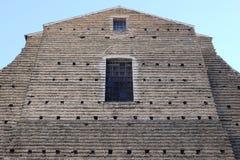 Church of San Paolo. In macerata royalty free stock photos