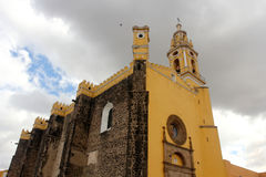 San Pedro Church in Cholula, Puebla, Mexico Royalty Free Stock Images