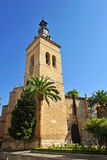 Church of San Pedro, Ciudad Real, Spain Stock Photography
