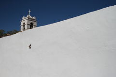 Church in San Pedro de Atacama Royalty Free Stock Photography