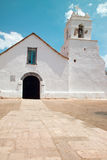 Church of San Pedro de Atacama. In the Atacama desert, Chile Royalty Free Stock Photos