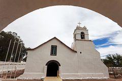 Church of San Pedro de Atacama Stock Images