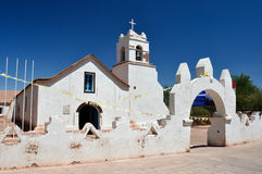 Church of San Pedro de Atacama, Chile Royalty Free Stock Photo