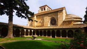 Church of San Pedro de la Rua at Estella Stock Image