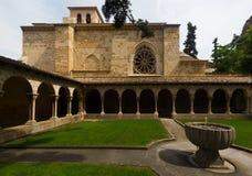 Church of San Pedro de la Rua at Estella. Navarre Royalty Free Stock Image