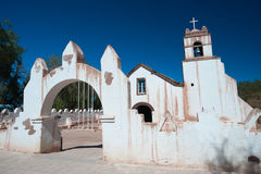 Church of San Pedro, San Pedro de Atacama, Chile Royalty Free Stock Images