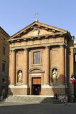 Church San Pellegrino alla Sapienza in Siena, Italy Royalty Free Stock Images
