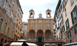 The church of San Pietro in Banchi Royalty Free Stock Images